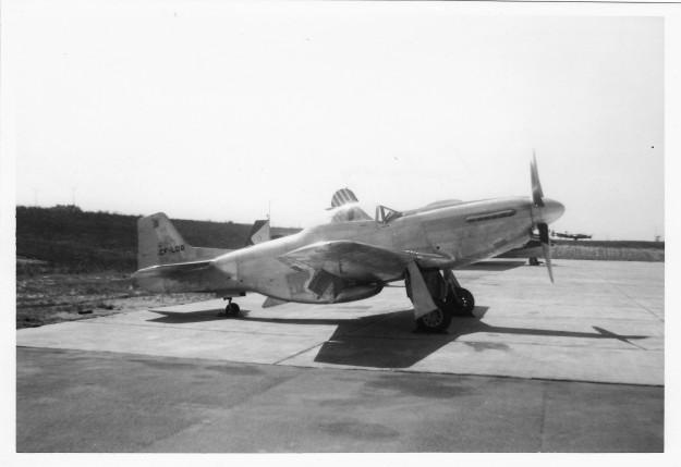 Civilian P-51D Mustang CF-LOQ at Calgary July 1962 via F.W.Wunsch