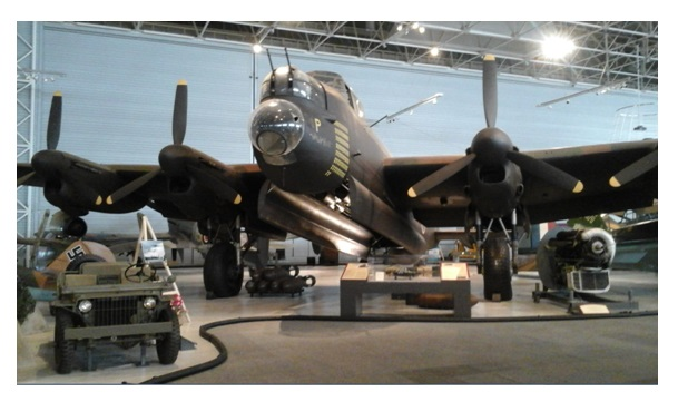 Lancaster in the museum